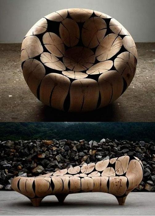 Чудесное превращение пуфа в кресло или тахту.