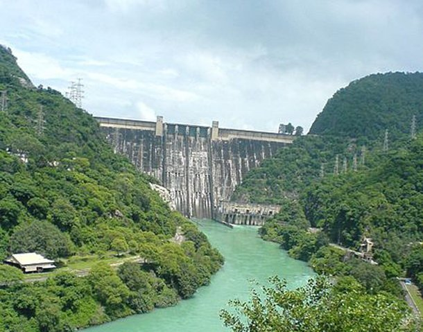 Самые высокие плотины в мире