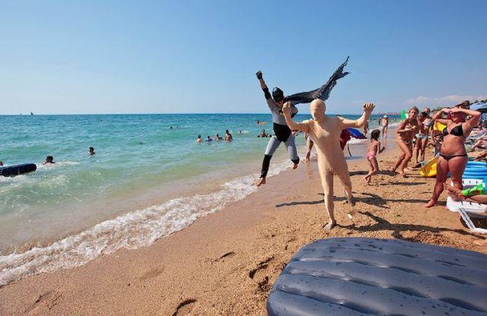 Необычные пляжные снимки (26 фото)