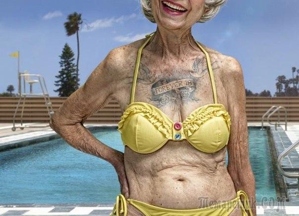 большие груди толстых бабушек фото