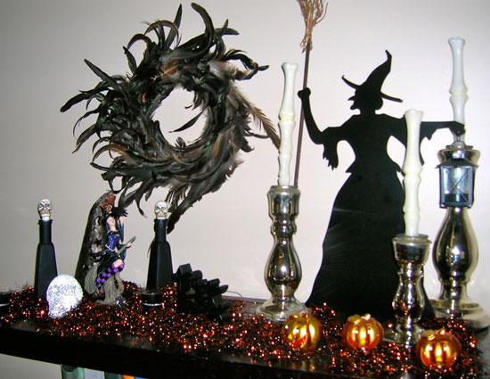 Как украсить гостинную к Хэллоуину