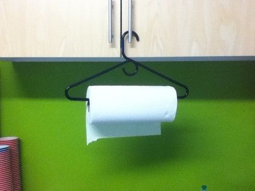 как хранить бумажные полотенца
