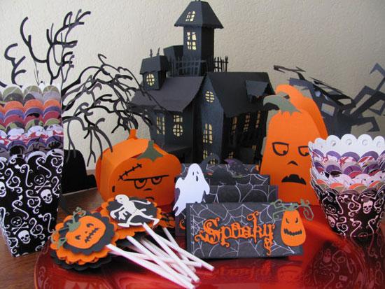 Украшения для Хэллоуина своими руками