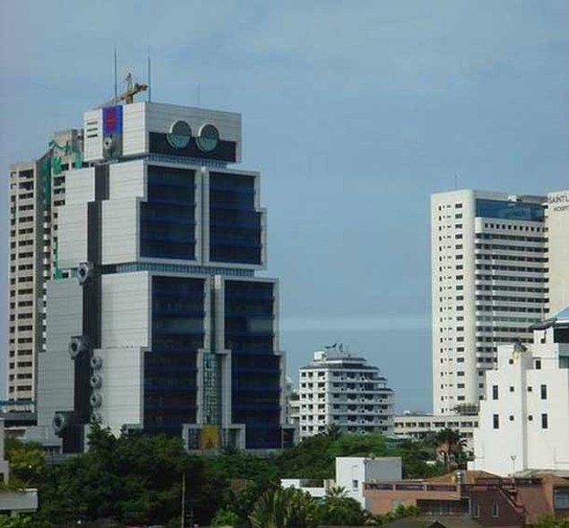Банк Азии а-ля здание-робот (Бангкок, Таиланд)
