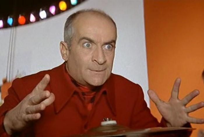 Луи де Фюнес в фильме *Человек-оркестр*, 1970 | Фото: kino-teatr.ru