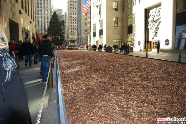 Денежная улица в Нью-Йорке