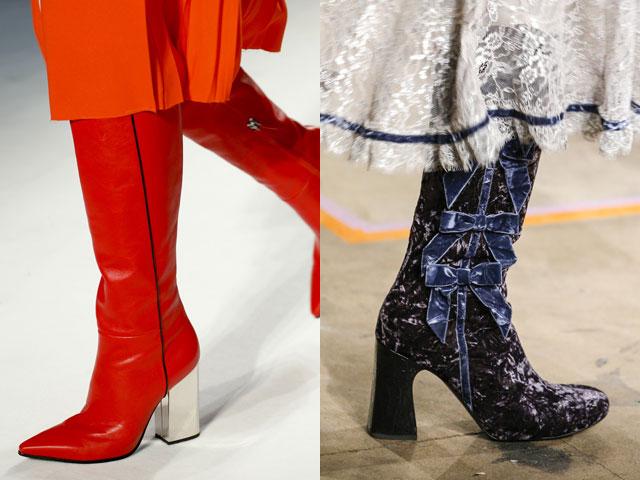 Модные сапоги осень-зима 2016-2017