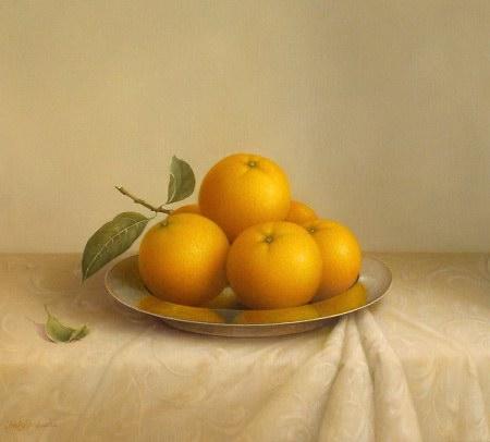 Oranges & Silver (450x406, 25Kb)