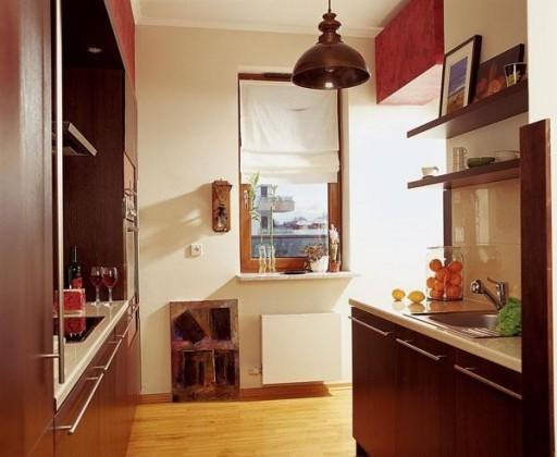 Двухрядная кухня 5 кв м