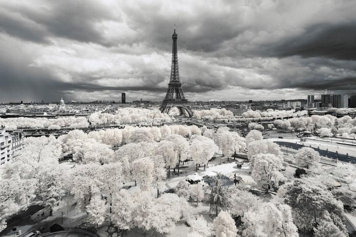Инфракрасный Париж