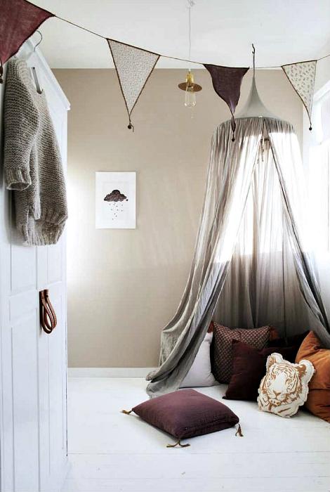 Уютный уголок для чтения.