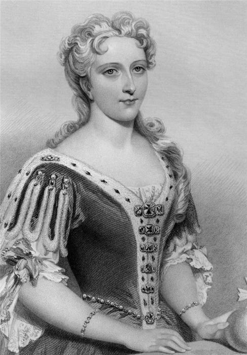 Изабелла Французская, супруга Эдварда II. Гравюра Д.Райта