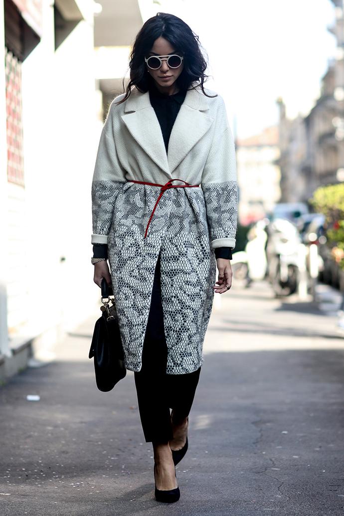 пальто, модные пальто 2014, что носить зимой, как носить пальто, уличный стиль, уличный стиль, пальто
