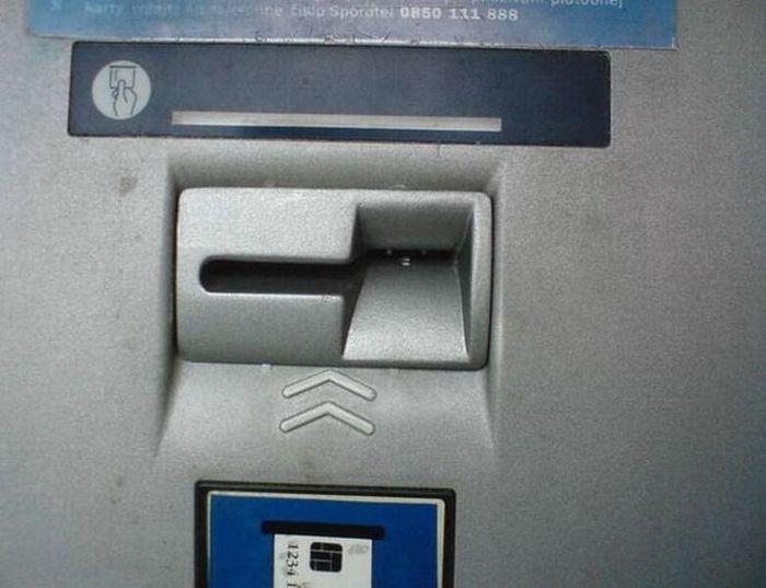 Банкомат обманщик (5 фото)