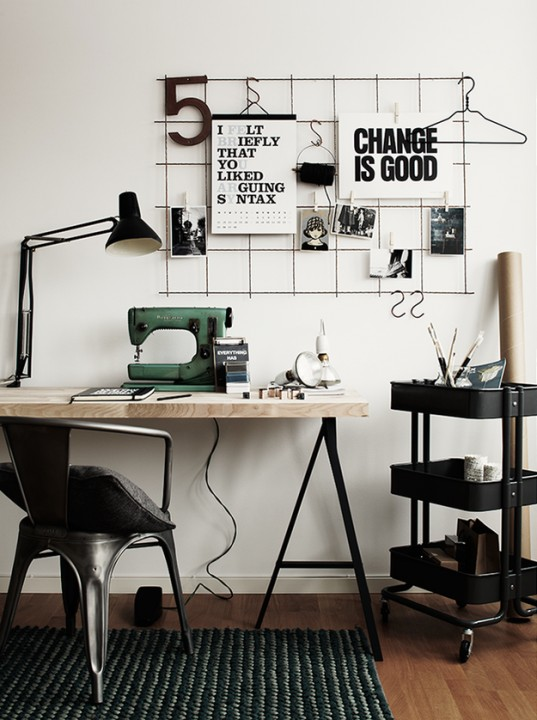 Рабочий стол - он не только для бумажных и компьютерных дел
