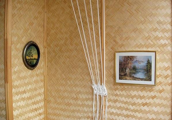 Стены из бамбука