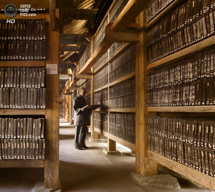 Южная Корея. Кёнсан-Намдо. Трипитака Кореана в храме Хэинса. (Will Pryce)