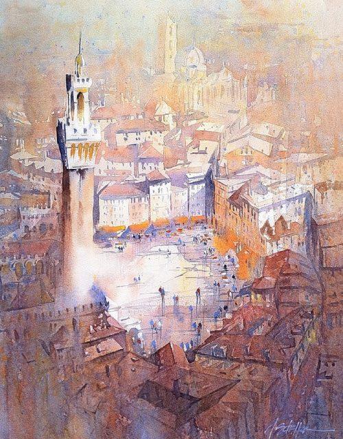 художник Thomas W. Schaller (Ð¢Ð¾Ð¼Ð°Ñ Ð¨Ð°Ð»Ð»ÐµÑ€) картины - 23