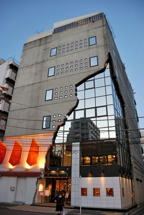 Современная японская архитектура. | Фото: Lumoza.