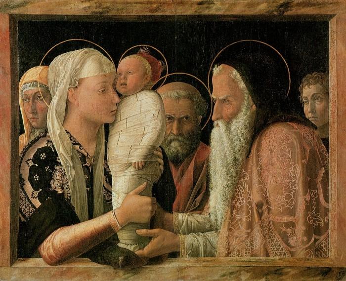 Андреа Мантенья. Принесение во храм. Ок. 1460.