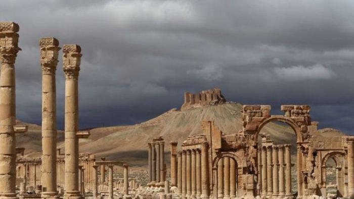Пальмира неплохо сохранилась, хоть и была покинута очень давно. /Фото: bbc.co.uk