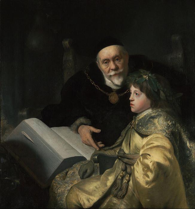 16 Портрет Карла Людвига Пфальцского с наставником, 1631 (652x700, 112Kb)