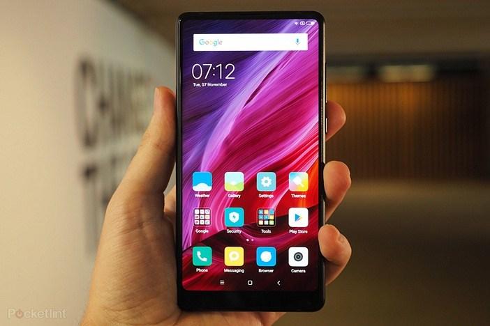 Xiaomi Mi Mix 2 вживую