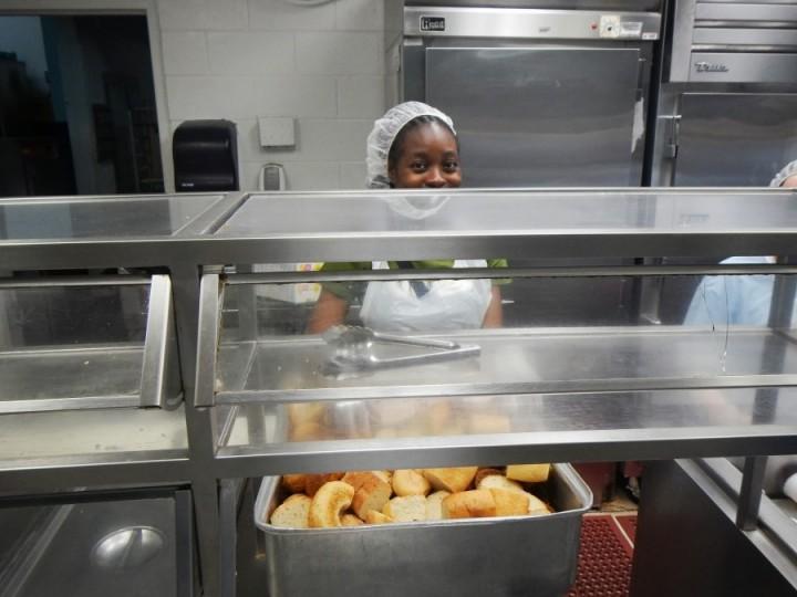 inshelter07 Завтрак в американском приюте для бездомных