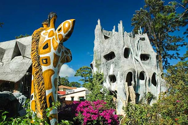 Пансион и картинная галерея Ханг Нга, называемая Сумасшедшим домом (Вьетнам)