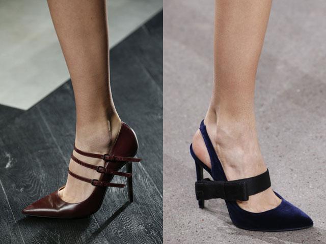 Обувь на шпильке 2017
