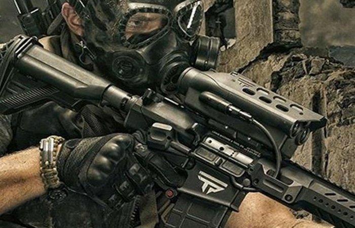 Футуристическое оружие: смарт-винтовка.