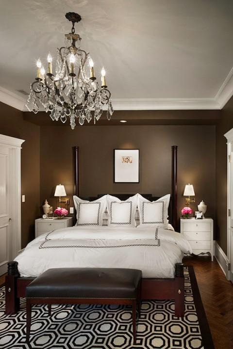 освещение зоны возле кровати