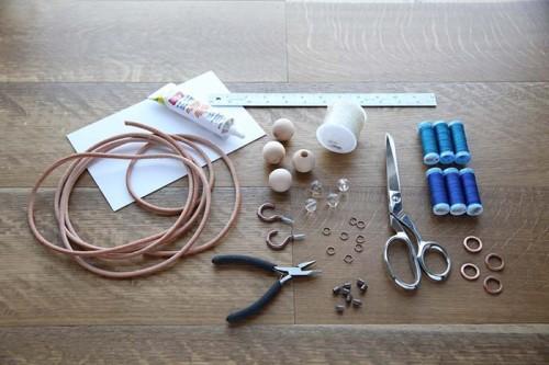 Материалы для создания кисточек