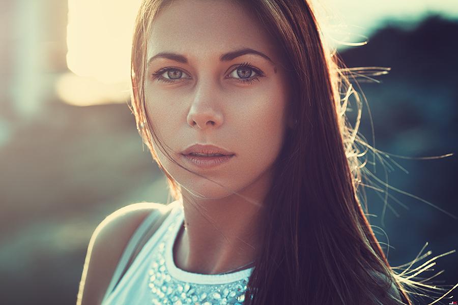 портретная фотография естественный свет ведь