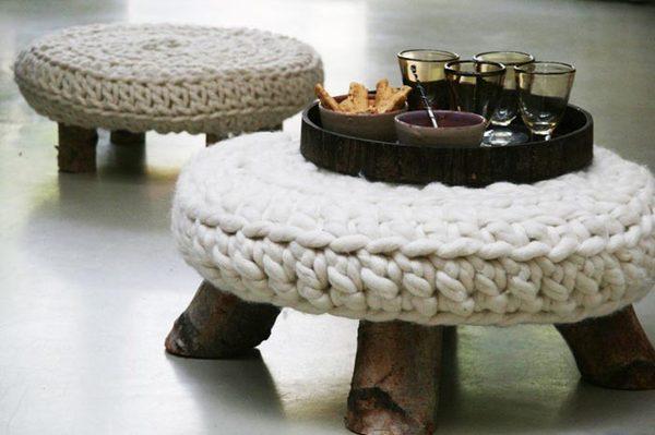 Вязаные стулья
