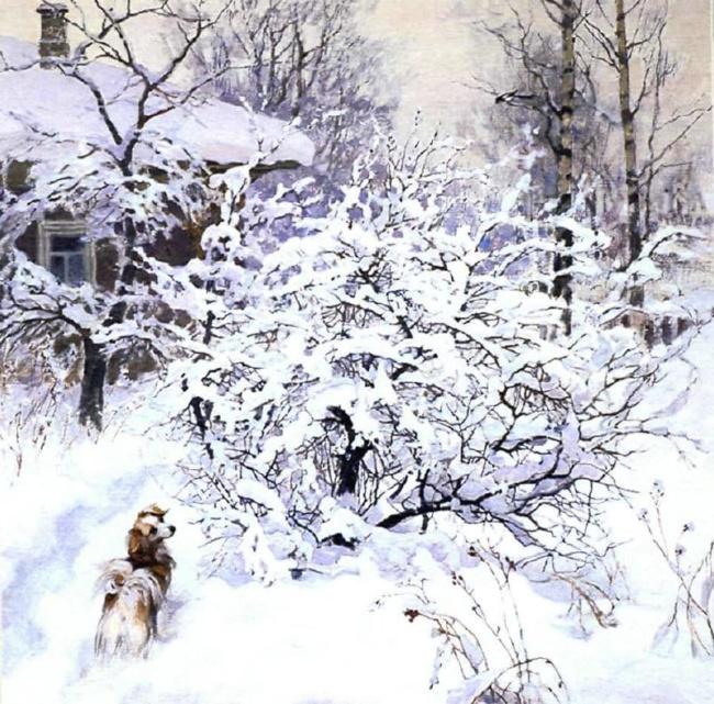 художник Олег Бороздин картины – 24