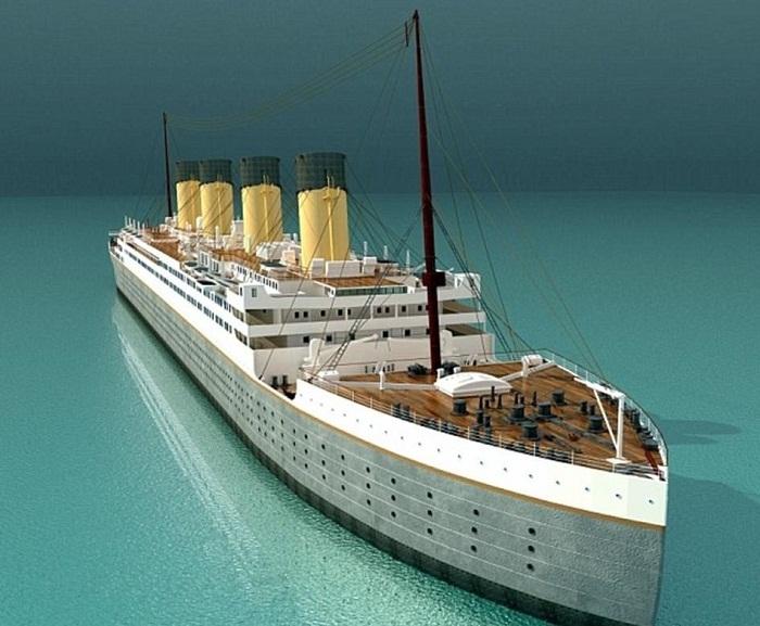 Макет копии «Титаника II».