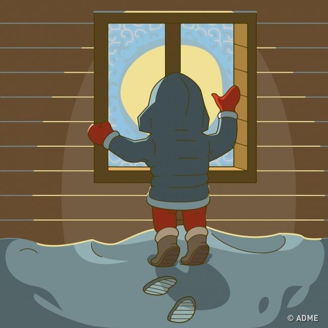 Замёрзшие окна