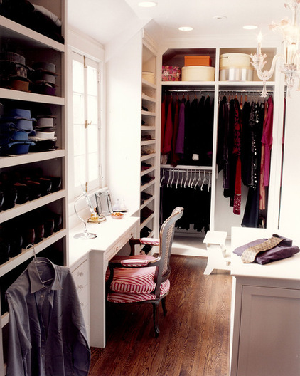 traditional closet by J.A. Smith Construction & Design Studio