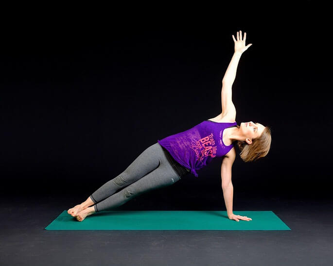 Идеальное упражнение для боковой мышцы — боковая планка