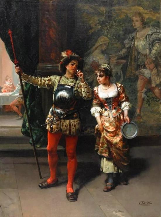 художник Чезаре Аугусто Детти (Cesare Auguste Detti) картины – 07