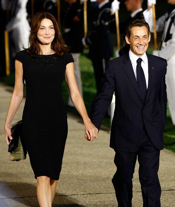 Карла Бруни (жена экс-президента Франции)