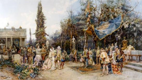художник Чезаре Аугусто Детти (Cesare Auguste Detti) картины – 10
