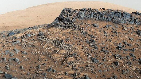 Город на Марсе (фото из открытых источников)