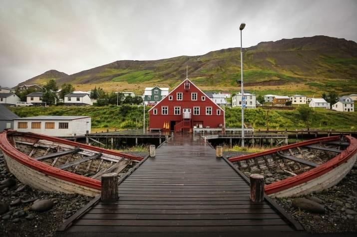 Сиглюфьордюр, Исландия Сказочно, города, красиво, места, мир, пейзаж, планета, фото