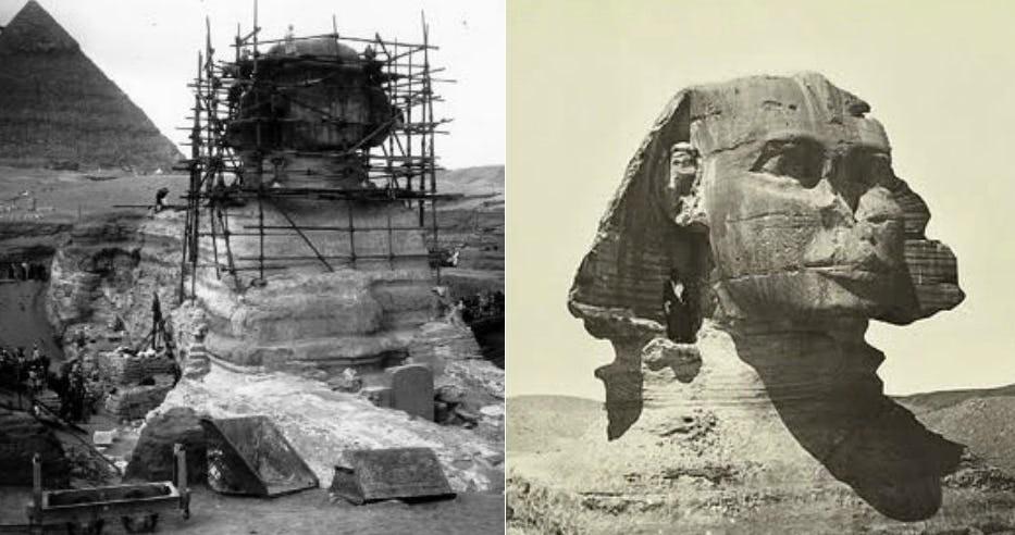 Всё, что вы не знали о Сфинксе: 15 интересных фактов о древнейшем монументе (16 фото)