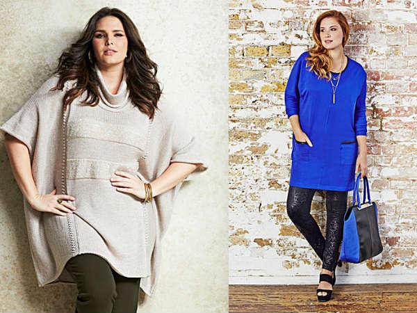 Одежда для полных осень-зима 2014-2015