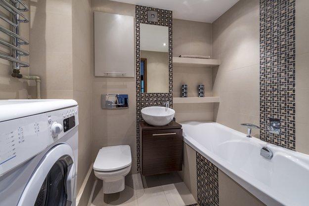 В ванную комнату обычно нужно вместить много вещей