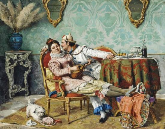 художник Чезаре Аугусто Детти (Cesare Auguste Detti) картины – 09