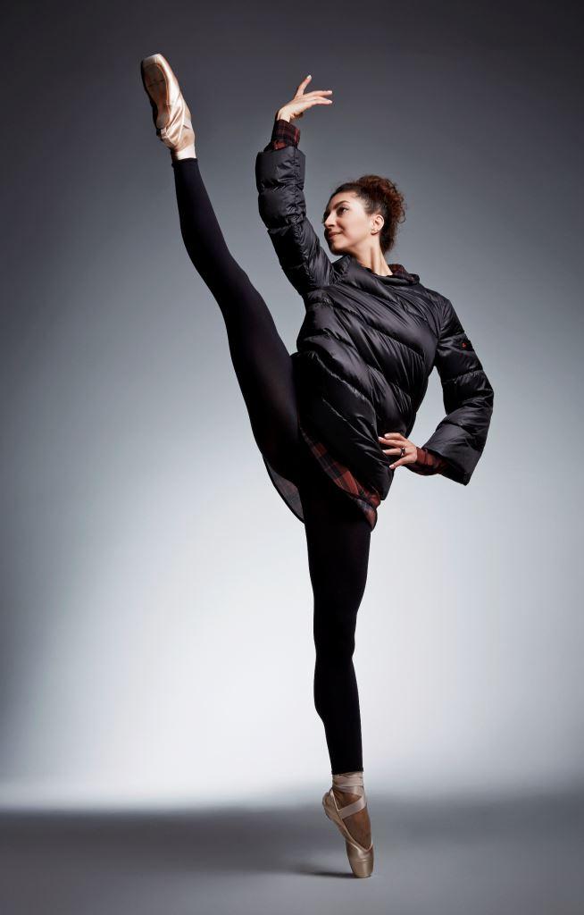 Артисты русского балета в съемке Peuterey